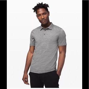 Lululemon Mens Evolution Short Sleeve Polo Shirt